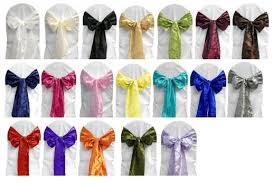 chair ties tablecloths chair covers skirting overlays chair bows