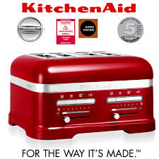 Toaster Kitchenaid Kitchenaid Artisan 4 Slot Toaster Candy Apple Cookfunky
