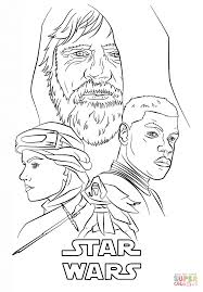 the force awakens poster coloring page free printable coloring pages