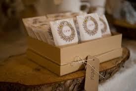 tea bag wedding favors handmade barn wedding ruffled