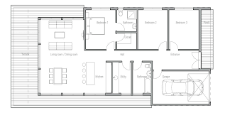 small house floorplan floor plans for tiny houses design house modern open ranch style