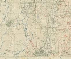 World War One Map by World War I Jane Austen U0027s World