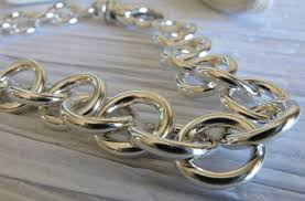 chain link bracelet sterling silver images Tiffany style chain link bracelet poseidon 39 s booty jpg
