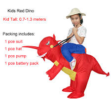 kids inflatable costume dinosaur costume dino suit cartoon