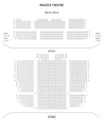 peacock theatre seating plan london boxoffice co uk