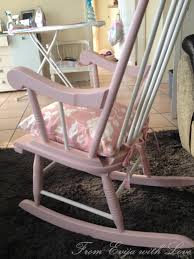 Pink Rocking Chair For Nursery Rocking Chair For A Very Special From Evija With Love