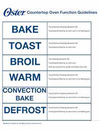 How Many Watts In A Toaster Toaster Ovens Faq Oster