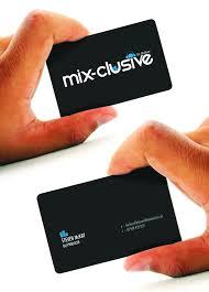 Best Business Card Company 15 Cool Dj Business Cards Printaholic Com
