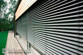 Motorised Vertical Blinds External Blinds And Venetians By Helioscreen