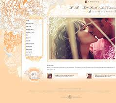 free wedding websites with wedding website themes to match your wedding theme modwedding