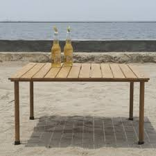 Outdoor Sofa Table by Teak Patio Furniture Shop The Best Outdoor Seating U0026 Dining