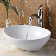 Glass Vanity Sinks Bathrooms Design Bowl Sinks For Bathroom Glass Vessel Mount Sink