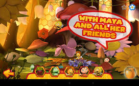 maya bee flowerparty lite android apps google play