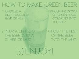 how to make green beer for st patricks day pictures photos and
