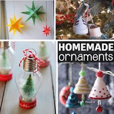 Homemade Decoration For Christmas Tree by 26 Homemade Ornaments
