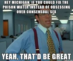 Anal Sex Meme - michigan is in the process of passing legislation to make anal sex