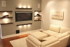 designing small living spaces polished dark brown wall paint