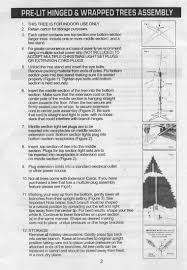 artificial tree instructions hewitts garden centers