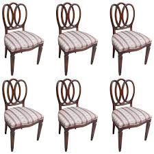 set of six baker dining chairs dining chairs side chair and room