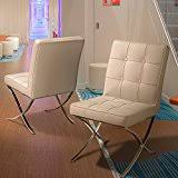 amazon com leather chairs kitchen u0026 dining room furniture