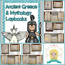 ancient greece and greek mythology lapbooks ancient greece
