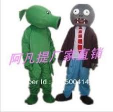 Plants Zombies Halloween Costume Plants Zombie Movie Character Costumes Free Shipping