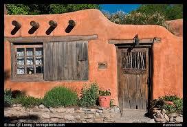 adobe houses picture photo adobe house santa fe new mexico usa