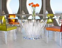 clear acrylic coffee table acrylic furniture lucite furniture