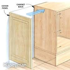 kitchen cabinet ends installing kitchen cabinet end panels www looksisquare com