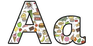 themed letters food themed display letters food alphabet food lettering