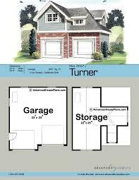 2 Car Garage Dimensions Traditional Garage Plan Turner