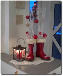 Weihnachtswanddeko Basteln Weihnachtsdekoration Mit Gummistiefel Holozaen De