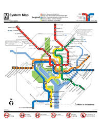 Red Line Map Washington Metro Capital Improvement Program Us Department Of