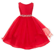 pageant dresses for christmas for kids amazon com