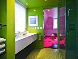 green bathroom color ideas featuring white ceramic bathtub and