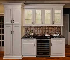 Tin Backsplash For Kitchen  Tin Ceiling Tile Backsplash With - Tin ceiling backsplash