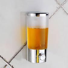 Wall Mounted Bathroom Liquid Soap Dispensers Hand Press Soap - Bathroom liquid soap dispenser