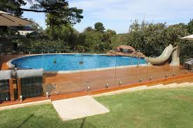 Backyard Above Ground Pool Ideas Cool Above Ground Pools With Decks U2013 Modern Backyard Landscaping Ideas