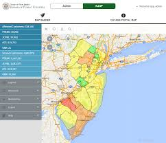 New Jersey Map New Jersey Outage Portal Offers First Statewide View Of Power Outages