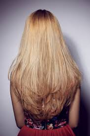 back of hairstyle cut with layers and ushape cut in back hate your layers here s how to grow them out layered hair