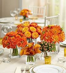 wedding flowers houston golden sunset centerpiece package by houston florist sicola s