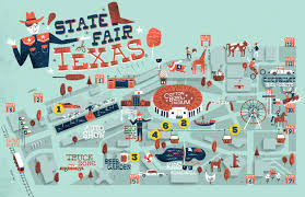 Illinois State Fairgrounds Map by State Fair Of Texas Map My Blog