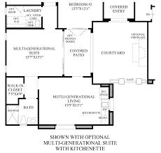 Multigenerational Homes Plans Los Altos The Malta Nv Home Design