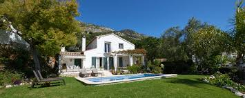 Translate Bedroom In Spanish Villas In Mijas Costa Del Sol Holiday Villas In Spain To Rent