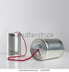 can telephone red wire conceptual communication stock photo