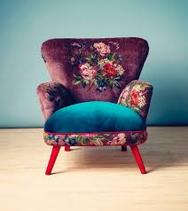 Chic Armchair Aujourd U0027hui Je Rêve Floral Chair Armchairs And Floral