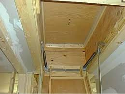how to insulate and air seal attic pull down stairs