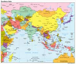 asia political map maps of asia and asia countries political maps administrative