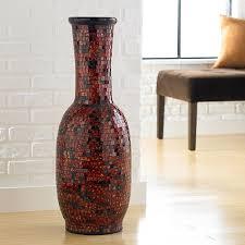 Large Mosaic Vase Vases Design Ideas Large Floor Vases Uniquewise Modern Pier 1