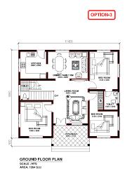 1 floor 3 bedroom house plans 1320 sqft kerala style 3 bedroom house plan from smart home gf 9
